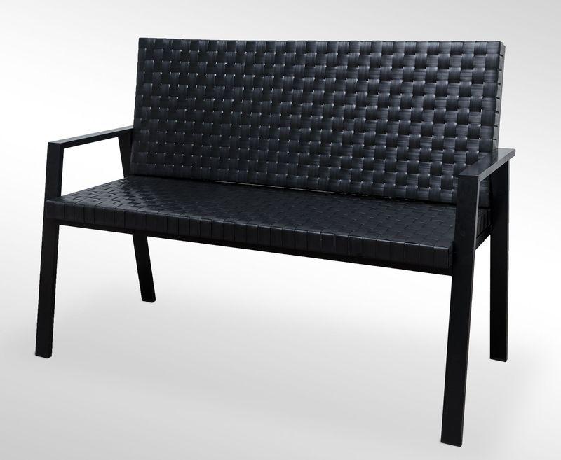 sofa z technorattanu rattan awka d 120 cm nowo 5631296318 oficjalne archiwum allegro. Black Bedroom Furniture Sets. Home Design Ideas